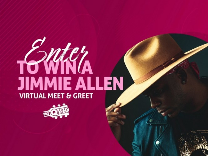 Jimmie Allen Virtual Meet And Greet Contest