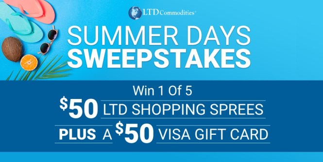 LTD Commodities Summer Days Sweepstakes