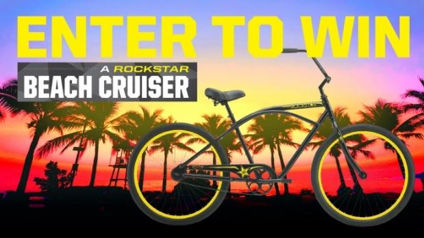 Rockstar Kroger Mid Atlantic Beach Cruiser Sweepstakes