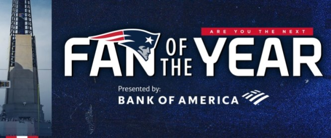 2020 New England Patriots Fan Of The Year Contest