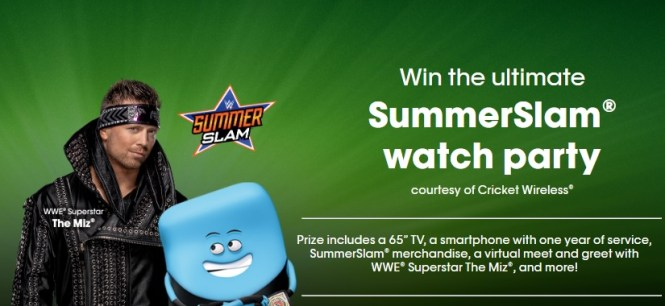 2020 Ultimate Summerslam Watch Party Sweepstakes