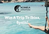 Acanela Trip To Ibiza Spain Sweepstakes