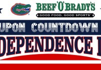 Beef O Bradys Coupon Countdown to Independence Day Sweepstakes