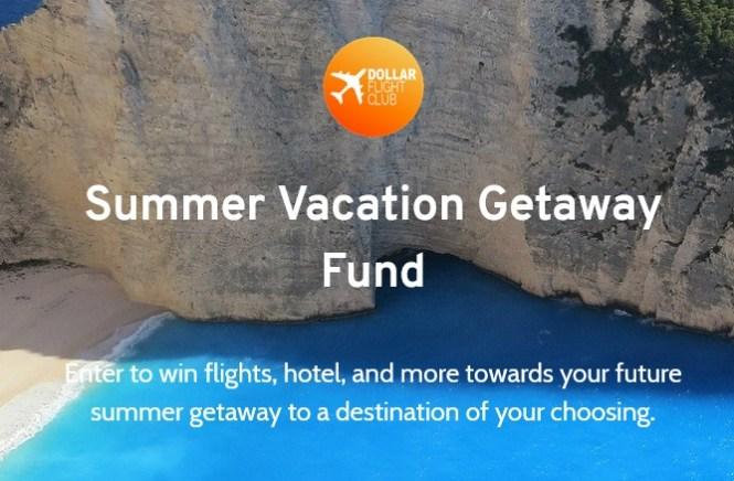 Dollar Flight Club Summer Vacation Getaway Fund Sweepstakes