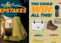Escape To The Outdoors Sweepstakes