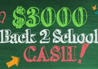 Frankly Media Back-2-School Cash Sweepstakes