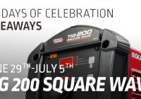 Lincoln Electric Square Wave Tig 200 Tig Welder Giveaway