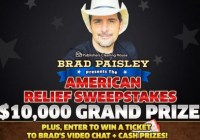PCH $10000 Great American Relief Sweepstakes