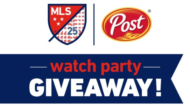 Post Cereals MLS Watch Party Sweepstakes