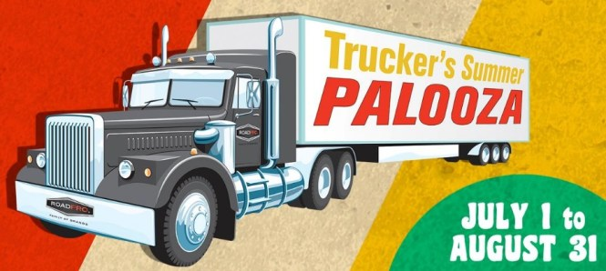 Road Pro Trucker Palooza Summer Sweepstakes