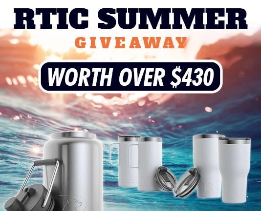RustyAngler.com RTIC Summer Giveaway