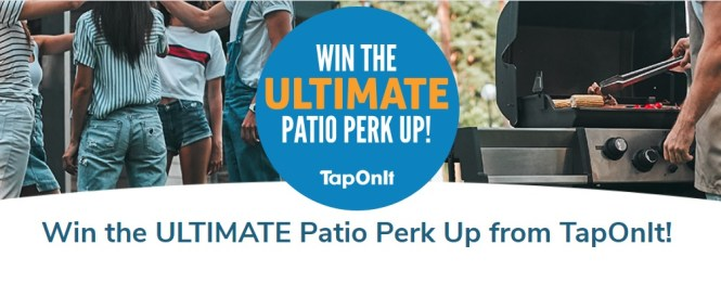 TapOnIt Patio Perk Up Contest