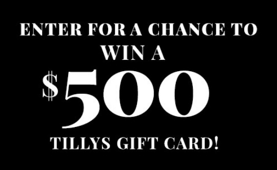 World Of Jeans & Tops Tillys $500 Gift Card Giveaway