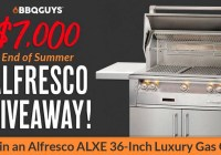 BBQGuys End Of Summer $7K Alfresco Grill Giveaway