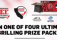 California Beef Council Your Grill Game Sweepstakes