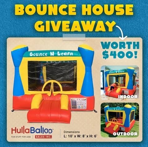 HullaBalloo Sales Bounce House Giveaway