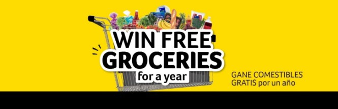 SE Grocers Groceries For A Year September Sweepstakes