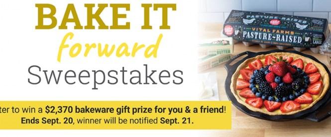 Bake It Forward Sweepstakes