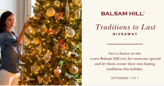 Balsam Hill Traditions To Last Giveaway