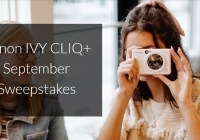 Canon IVY CLIQ September Sweepstakes