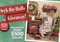 Country Sampler 2020 Deck The Halls Giveaway