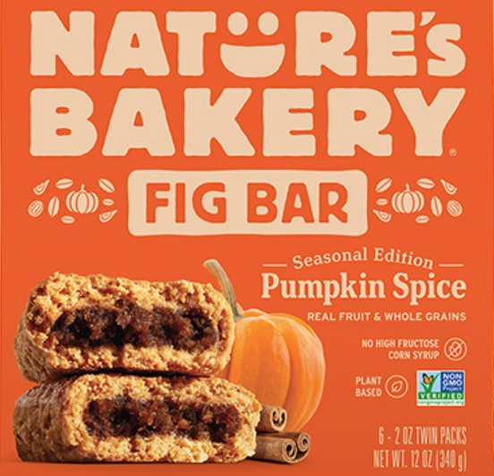 Nature's Bakery Fuel Up For Fall Pumpkin Spice Giveaway
