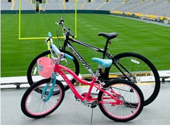 Packers Autographed DreamDrive Bike Sweepstakes