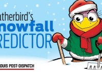 The St. Louis Post-Dispatch Weatherbird Snowfall Predictor Sweepstakes