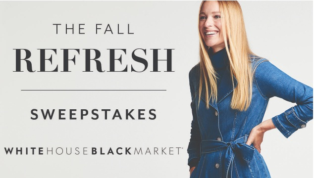 White House Black Market White House Black Market Fall Refresh Sweepstakes
