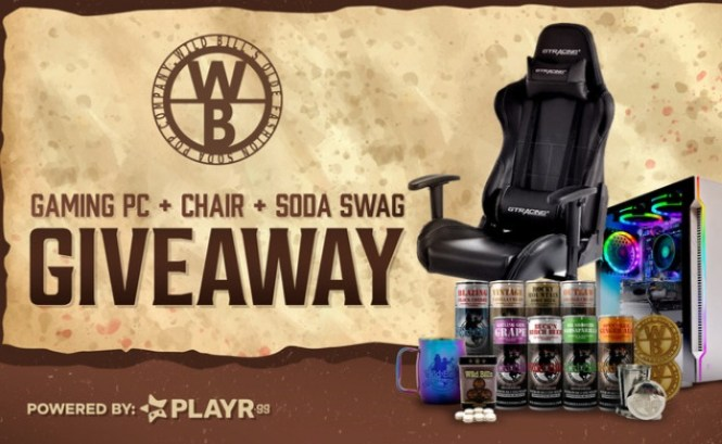 Wild Bill Soda Swag And Gaming PC Giveaway