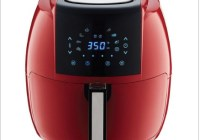 GoWISE Chili Red Electric Air Fryer Giveaway