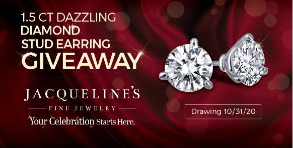 Jacqueline Fine Jewelry Diamond Stud Earrings Giveaway