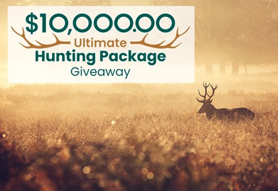 PCH.com $10000 Ultimate Hunting Package Giveaway