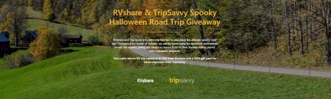 RVshare And TripSavvy Spooky Halloween Road Trip Giveaway