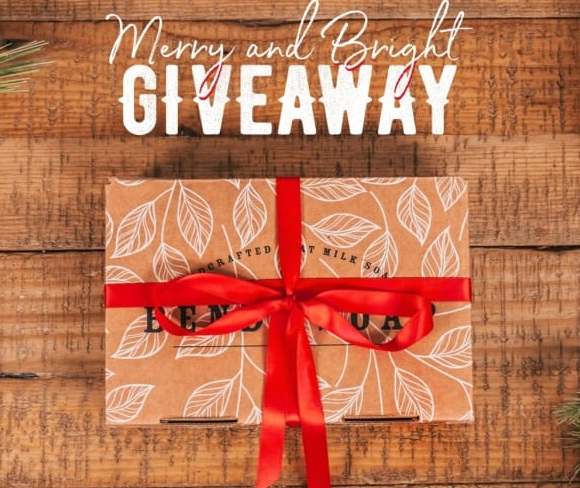 Bend Soap Company Bend Soap Merry And Bright Holiday Giveaway