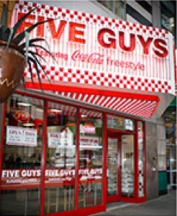 Five Guys Enterprises Five Guys Customer Survey Sweepstakes