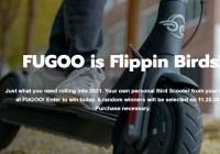 Fugoo Bird Scooter Giveaway