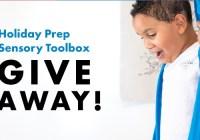 Holiday Prep Sensory Toolbox Giveaway