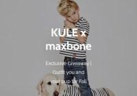 Maxbone KULE X Maxbone Giveaway
