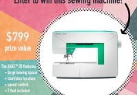 Meredith Corporation American Patchwork And Quilting Husqvarna Viking Jade 20 Sweepstakes
