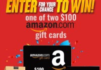 Showtimes.com Amazon Gift Card Giveaway