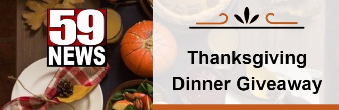 WVNS-TV Thanksgiving Dinner Sweepstakes