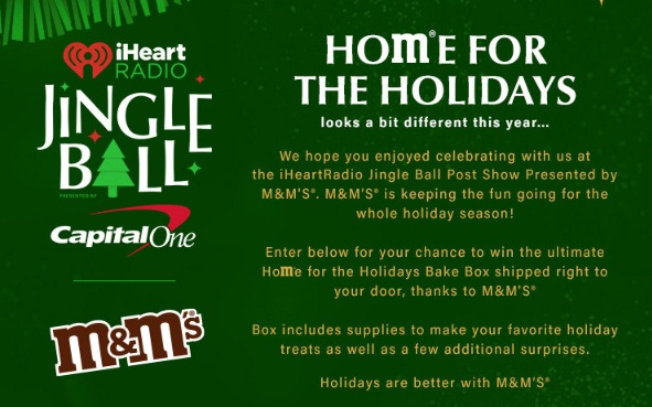 M And M Fan Kit Box Sweepstakes