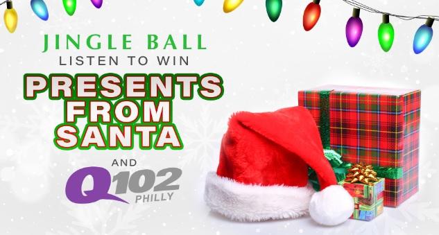 Q102 24 Hours Of Jingle Ball Sweepstakes