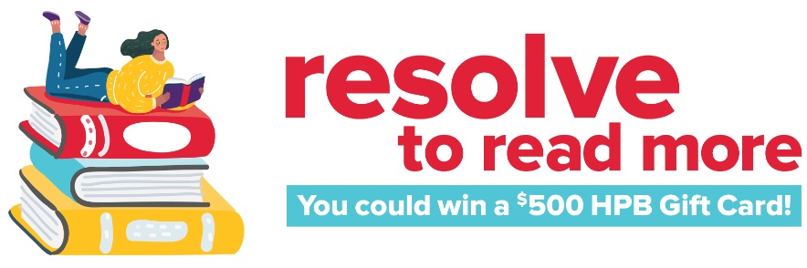Half Price Books Resolve To Read Sweepstakes
