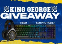 KingGeorge CORSAIR Peripheral Bundle Giveaway