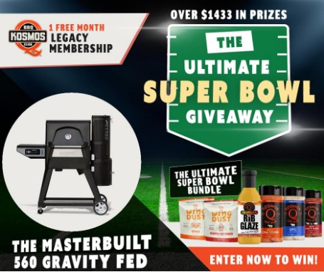 Kosmos The Ultimate Super Bowl Giveaway