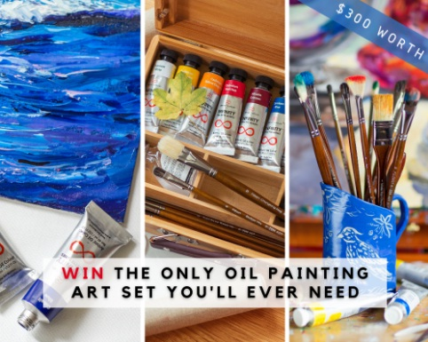 ZenART Supplies Zen Art Supplies $300 Oil Paint Art Giveaway