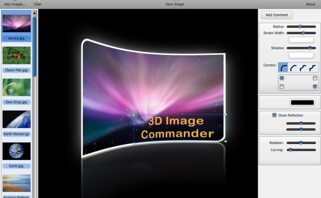 3D Image Commander Version 2.20 & 1.8 Cracked Full Version With Shape Collage