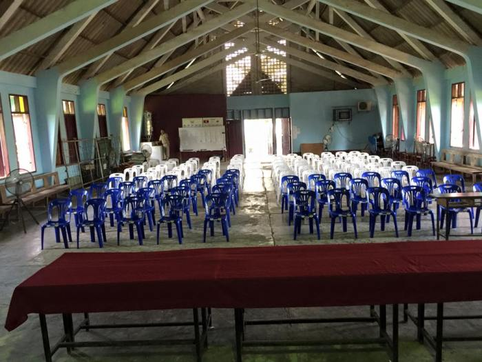 Chomphet Auditorium (Old Chapel)